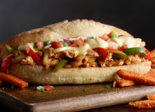 CAJUN CHICKEN PHILLY
