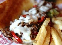 SIRLOIN STEAK CHEESE