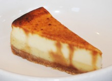 MINI CREME BRULEE CHEESECAKE