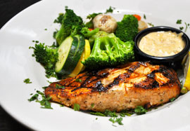 Grilled Chicken and more from the 54th Street Menu
